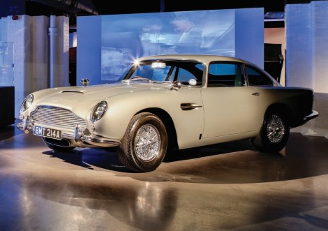 Aston Martin DB5 - Photo courtesy: London Film Museum