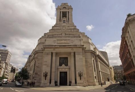 『007/スペクター』ロンドン・ロケ地 - フリーメイソンズ・ホール