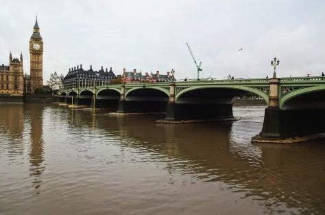 『007/スペクター』ロンドン・ロケ地 - ウエストミンスター・ブリッジ