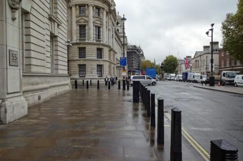 『007/スペクター』ロンドン・ロケ地 - ホワイトホール