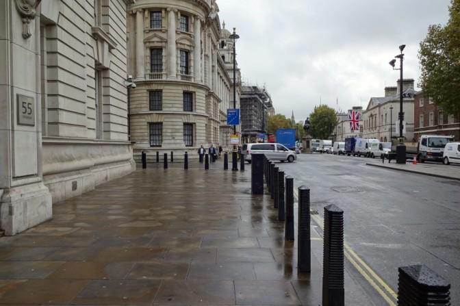 『007/スペクター』ロンドン・ロケ地情報#9 ホワイトホール