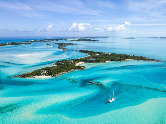 バハマのプライベート・アイランドLittle Pipe Cay