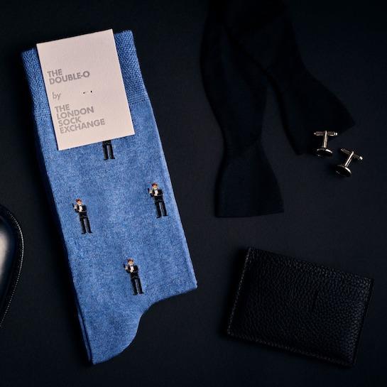 """The Double-O"" James Bond Socks © 007Store"