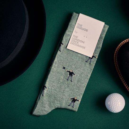 """The Oddjob"" James Bond Socks © 007Store"