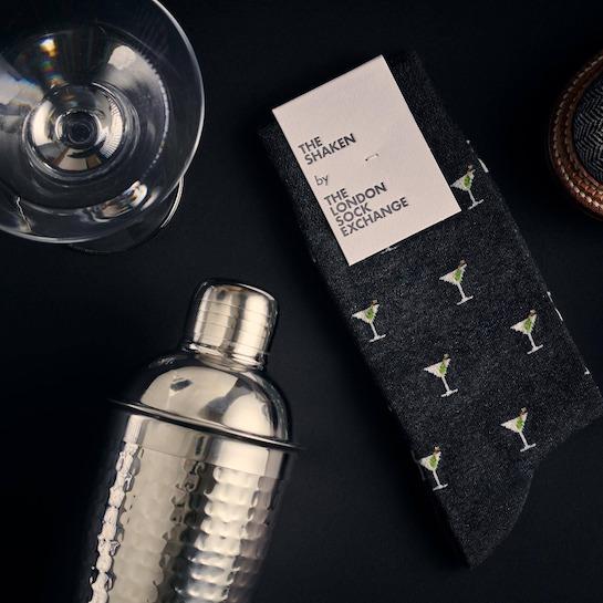 """""""The Shaken"""" James Bond Socks © 007Store"""