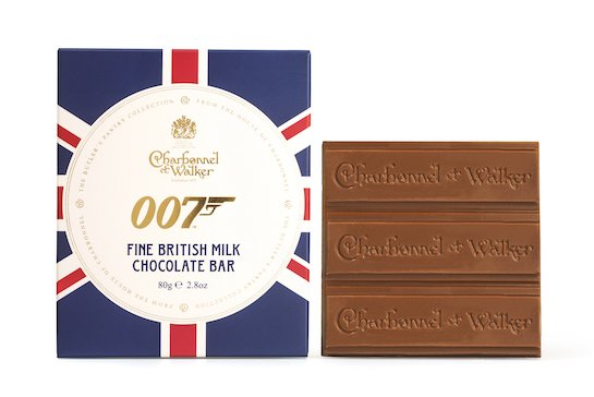 007 British Milk Chocolate Bar ©007Store