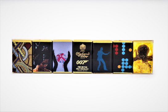 007 Mini Chocolate Bar Set ©007Store