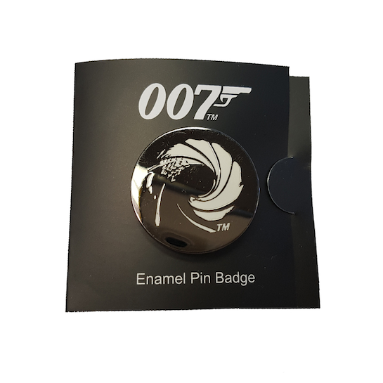 Gun Barrel Lapel Pin ©007Store