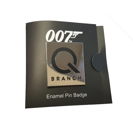 Q Branch Lapel Pin ©007Store
