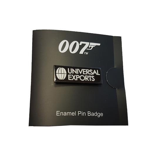 Universal Exports Lapel Pin ©007Store