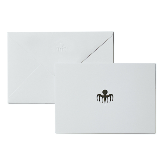 SPECTRE Symbol Notecard Set - No Time To Die Edition © 007Store