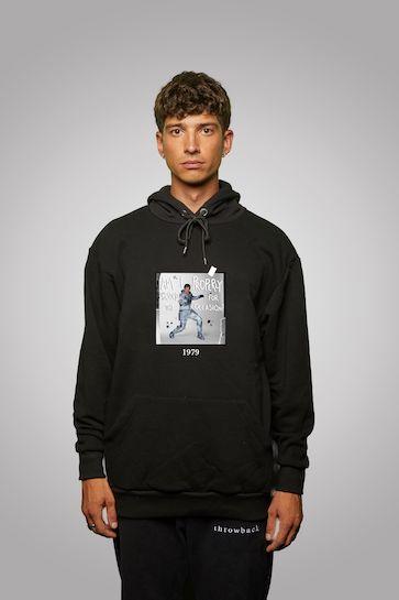 007 Moonraker Black Hooded Sweatshirt - By Throwback © 007Store