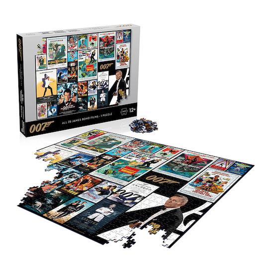 James Bond 25 Film Poster 1000 Piece Puzzle © 007Store