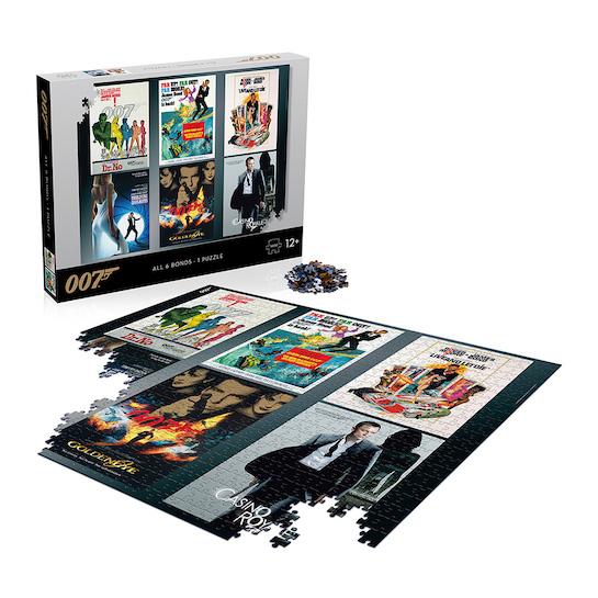 James Bond Debut Poster 1000 Piece Puzzle © 007Store