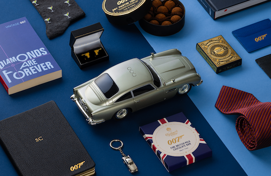 The James Bond Father's Day Gift Guide 2021 © 007Store