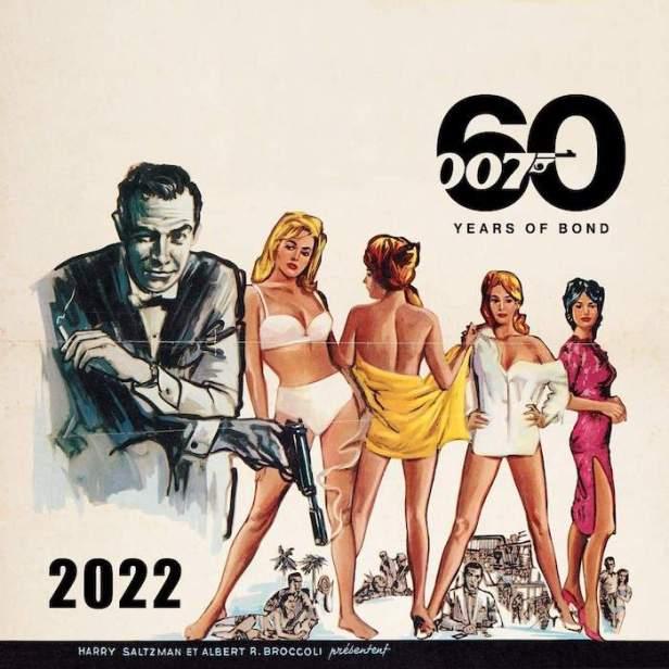James Bond 2022 Calendar - 60th Anniversary Edition © 007Store