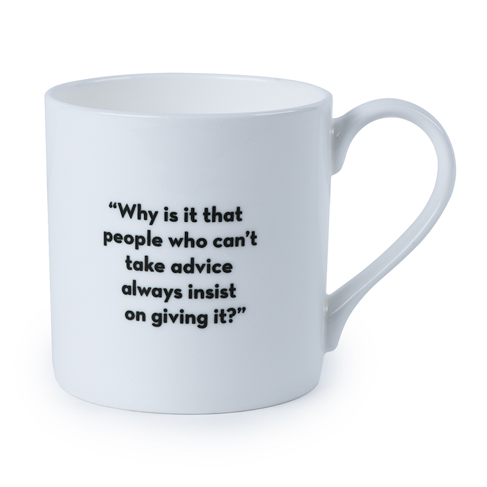 James Bond Advice Quote Bone China Mug © 007Store