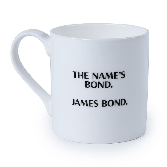 James Bond The Name's Bond Bone China Mug © 007Store