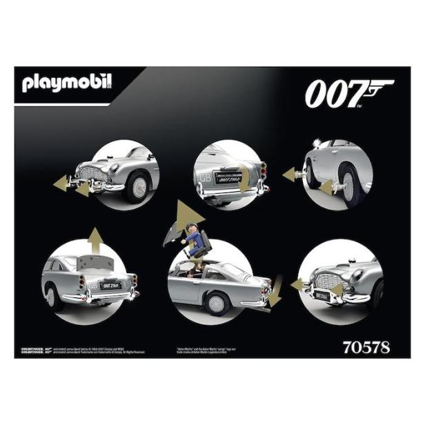 Playmobil James Bond Aston Martin DB5 © 007Store