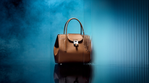 007 Bond Bancroft Satchel in Smooth Calf Leather © 007Store