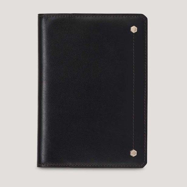 Hex Leather Passport Holder © 007Store
