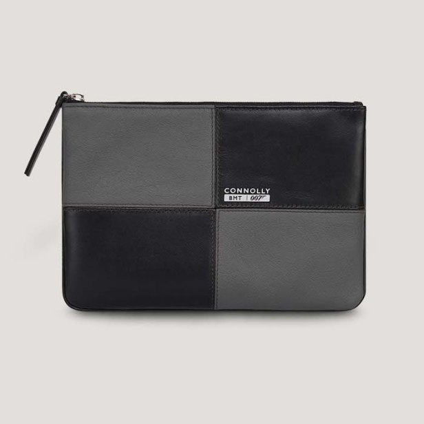 Leather Circuit Pouch Bag © 007Store