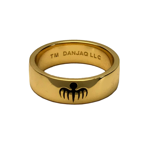 SPECTRE Agent 18ct Gold Ring Prop Replica © 007Store